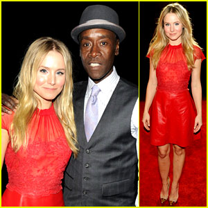 Kristen Bell & Don Cheadle - People's Choice Awards 2012