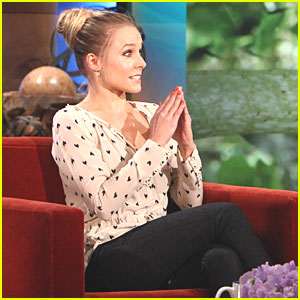 Kristen Bell: I Cried Hysterically Over Sloth Birthday Gift