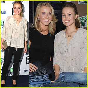 Kristen Bell: Teens for Jeans Kick-Off Party!