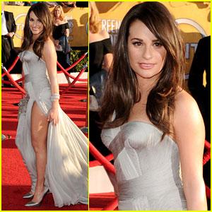 Lea Michele - SAG Awards 2012 Red Carpet