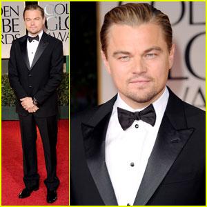 Leonardo DiCaprio - Golden Globes 2012 Red Carpet