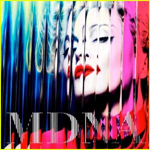 Madonna: 'MDNA' Album Cover!