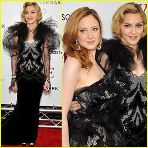 Madonna: 'W.E.' Premiere with Andrea Riseborough!
