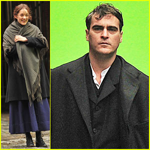 Marion Cotillard & Joaquin Phoenix Hit the 'Low Life' Set