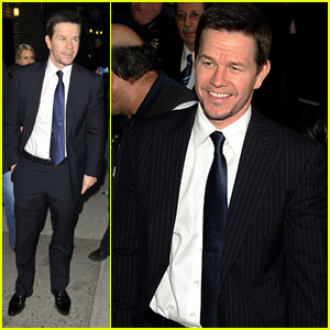 Mark Wahlberg: 'Late Show with David Letterman' Visit!