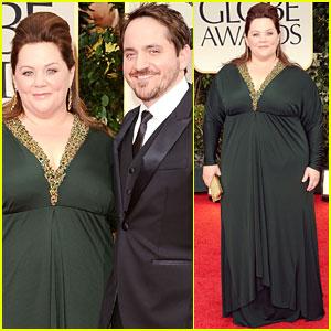 Melissa McCarthy - Golden Globes 2012 Red Carpet