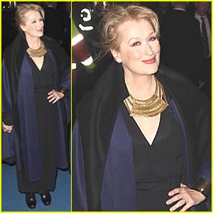 Meryl Streep: 'Iron Lady' European Premiere!