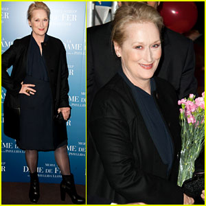 Meryl Streep: 'Iron Lady' Paris Premiere!