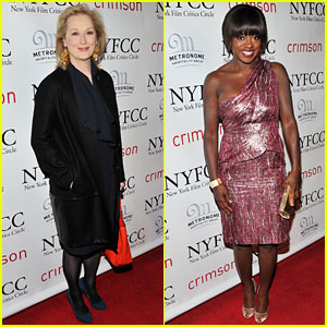 Meryl Streep & Viola Davis: Critics Circle Awards!