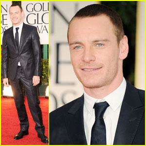 Michael Fassbender - Golden Globes 2012 Red Carpet