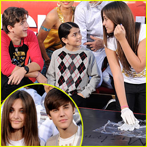 Michael Jackson's Kids: Handprint Ceremony in Los Angeles