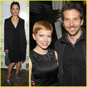 Michelle Williams & Bradley Cooper: Weinstein Party!