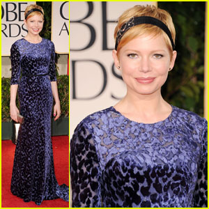 Michelle Williams - Golden Globes 2012 Red Carpet