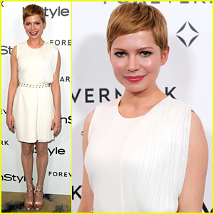 Michelle Williams: InStyle's A Promise Of Beauty & Brilliance Party!