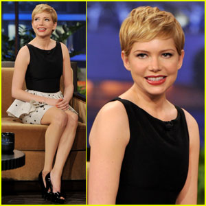 Michelle Williams: 'Tonight Show With Jay Leno'!