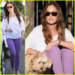 Minka Kelly: Dog Day Afternoon