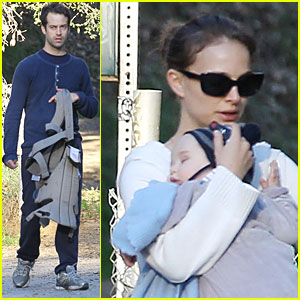 Natalie Portman & Aleph: Griffith Park with Benjamin Millepied!