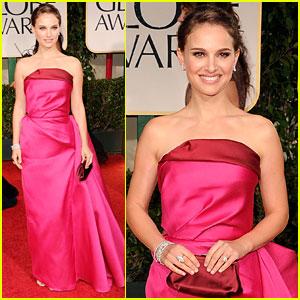 Natalie Portman - Golden Globes 2012 Red Carpet