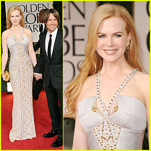 Nicole Kidman: Golden Globes with Keith Urban!