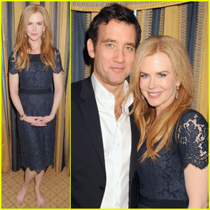 Nicole Kidman: HBO TCA Panel With Clive Owen!