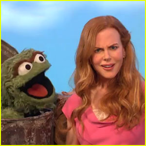 Nicole Kidman: 'Sesame Street' Vocabulary Face!