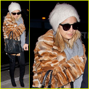 Nicole Richie Pulled All-Nighters for 'Fashion Star'
