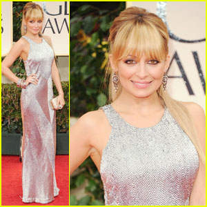 Nicole Richie - Golden Globes 2012 Red Carpet