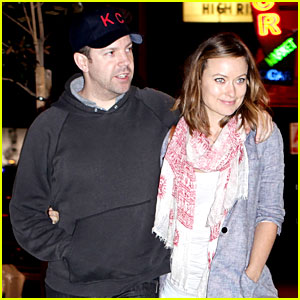 Olivia Wilde & Jason Sudeikis: Ta-Ke Sushi Twosome - Exclusive!
