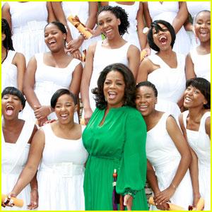 Oprah Winfrey: Leadership Academy Graduation!