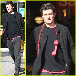 Orlando Bloom: Whole Foods Run