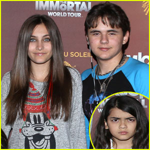 Michael Jackson's Kids: 'Immortals' Tour Trio