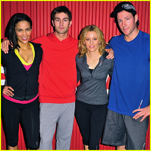 Paula Patton & Chace Crawford: 'Sport Of Fitness' Campaign Launch!