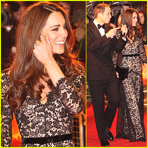 Prince William & Duchess Kate: 'War Horse' UK Premiere!