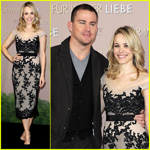 Rachel McAdams & Channing Tatum: 'The Vow' Germany Photo Call