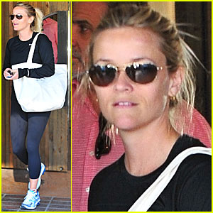 Reese Witherspoon: Cali Lunch Date!
