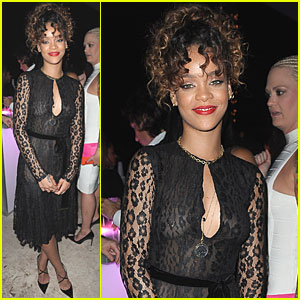 Rihanna: New Year's Party with Diddy!