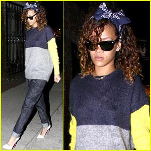 Rihanna: Getting A New Tattoo?