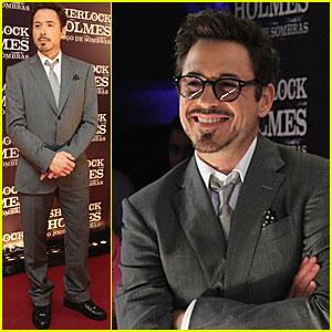 Robert Downey, Jr.: 'Sherlock Holmes' in Brazil!