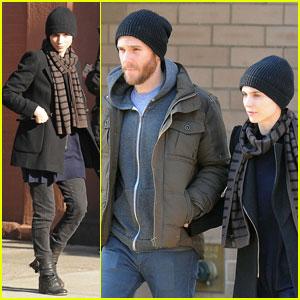 Rooney Mara & Charles McDowell: Soho Stroll