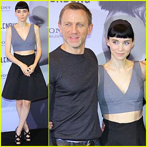 Daniel Craig & Rooney Mara: 'Dragon Tattoo' in Berlin!