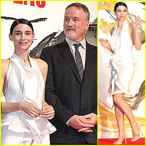 Rooney Mara: 'Dragon Tattoo' Tokyo Premiere!