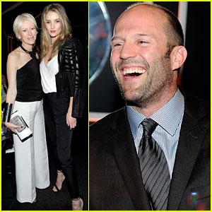 Rosie Huntington-Whiteley & Jason Statham: Globes Party Pair!