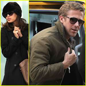 Ryan Gosling & Eva Mendes: Day Out in New York!