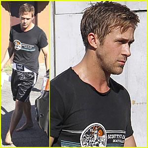 Ryan Gosling: Barefoot Boxer
