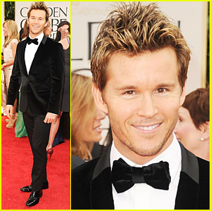 Ryan Kwanten - 2012 Golden Globes Red Carpet
