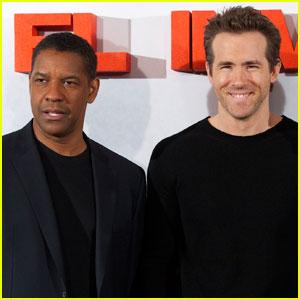 Denzel Washington: Ryan Reynolds Gave Me A Black Eye!