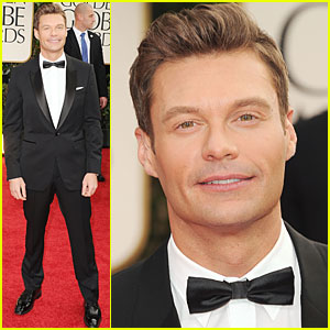 Ryan Seacrest - Golden Globes 2012 Red Carpet