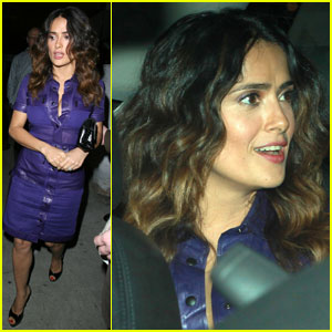 Salma Hayek Set to Present at Golden Globes