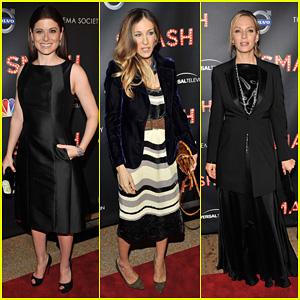 Sarah Jessica Parker & Debra Messing: 'Smash' Premiere!