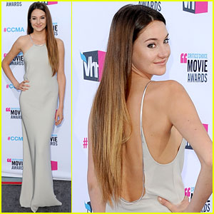Shailene Woodley - Critics' Choice Awards 2012